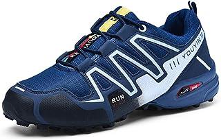 Men's hiking shoes Zapatillas de Hombre Zapatos funcionales Caminar cómodo Zapatos Ligeros Senderismo Baja para Ayudar a Impermeable