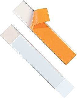 Durable 804019 Etiketvenster Etiketfix, zelfklevend, voor etiketten 200 x 40 mm, transparant, verpakking ࠵ 5 stuks.