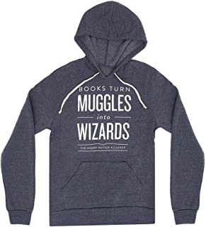 Unisex/Men's Literary and Book-Themed Hoodie Sweatshirt