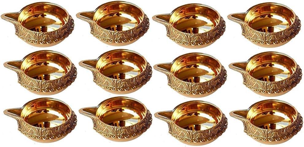 online shopping GENX Brass Kuber Kubera Lakshmi Diya Burne Los Angeles Mall Lamp Oil Deepa Aarthi