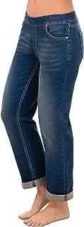 Women's Stretch Knit Denim Boyfriend Jeans