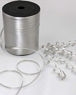 GiftExpress 500 Yards Silver Curling Ribbon/Balloon Ribbon/Balloon Strings/Gift Wrapping Ribbons Supplies