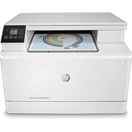 HP Color LaserJet Pro MFP M182n - Impresora láser multifunción, color, Ethernet (7KW54A)