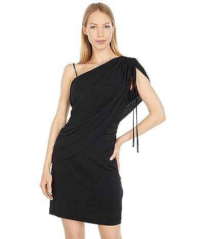 Halston Randi Off-the-Shoulder Dress