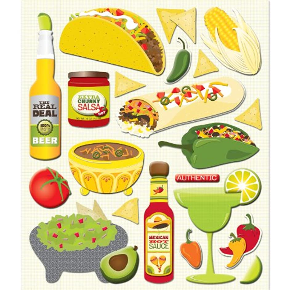 K&Company Mexican Sticker Medley