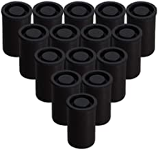 AKIRO Film Canisters with Caps 35 mm Empty Camera Reel Storage Containers Case Plastic Storage 15 Pack Black