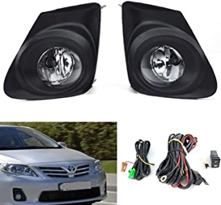 RP Remarkable Power, FL7012 Fit for 2011-2013 Corolla OE Style Clear Fog Light Kit