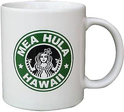 ハワイアン雑貨/インテリア/ハワイ 雑貨【HID】マグカップ MEA HULA (フラガール) ハワイアン 雑貨