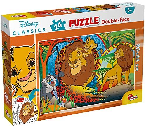 Lisciani Giochi - Disney Puzzle DF Plus 24 Re Leone Puzzle per Bambini, 86504