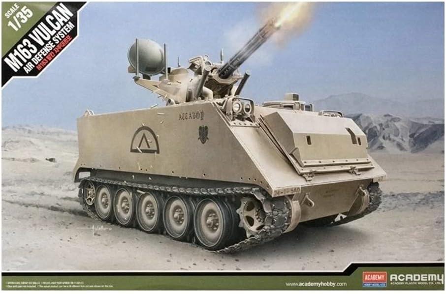 Buy Academy Hobby Model Kits Scale Model : Armor Tanks & Artillery Kits [ 1/35 M163 Vulcan Air Defense System) Online in Nigeria. B079N3CJ8G