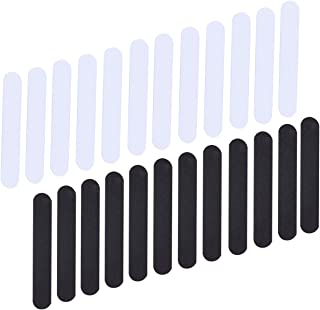 24 Pieces Hat Size Reducer Foam Reducing Tape for Hats(Black and White)