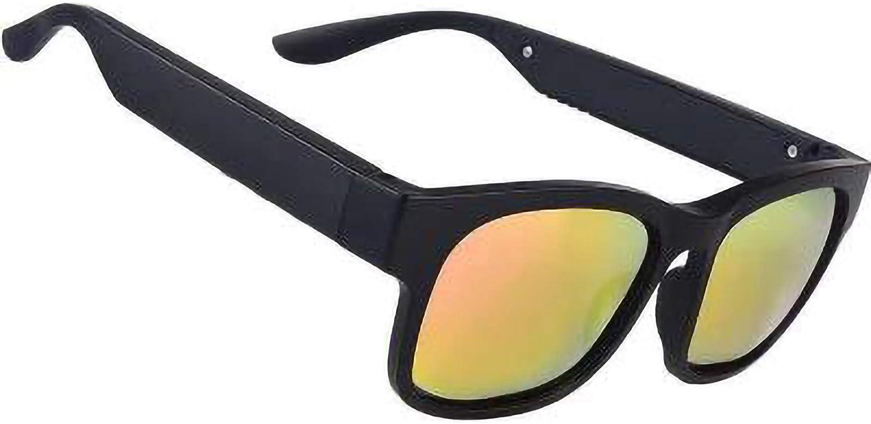 DUOYE Bone Conduction Smart Glasses, Bluetooth 5.0 Smart Call, Open Sun Sunglasses, Long Battery Life, Sports, Music, Outdoor
