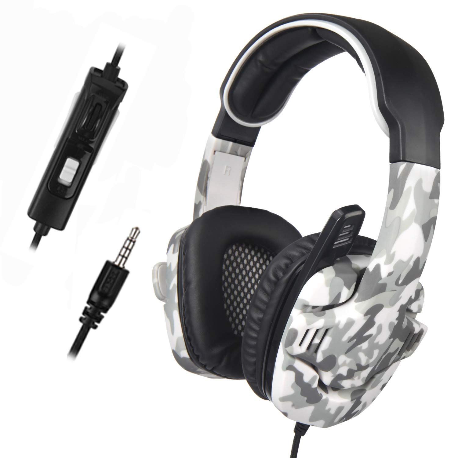 Gaming Headsets for New Xbox One PS4 PC PS4 Gaming Headset SADES SA708 PC Headset Headphone with Microphone