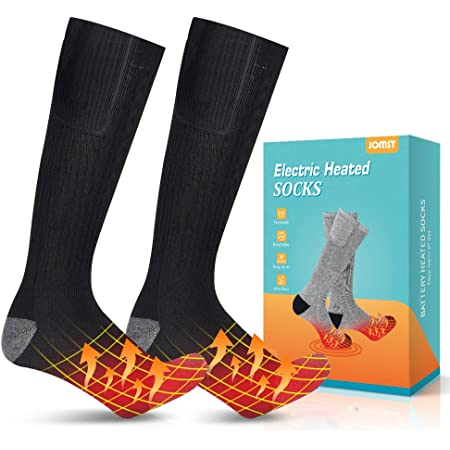 Skating and Skiing Camping Winter Warm Cotton Socks for Outdoor Sports Yubenhong heated Socks Motorcycling Fishing Electric Heating Socks for Men Women Cycling