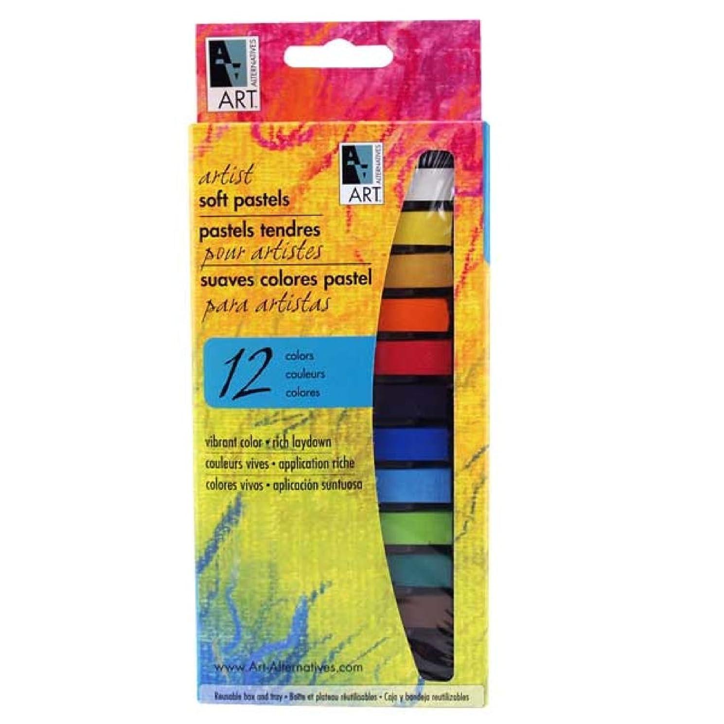 Art Alternatives Pastel 12-Color Set