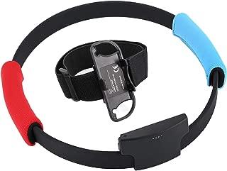 Switch リングフィット アドベンチャー対応 フィットネスリングフィットアドベンチャースポーツゲームセット調整可能なレッグストラップスポーツバンドリングコンアンチスリップグリップ Ring Fit Adventure専用