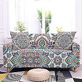 WXQY Funda de sofá con diseño de Mandala Funda de sofá...