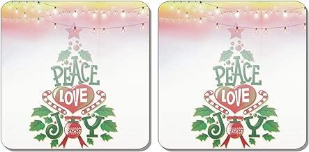 Family Shoping Christma Ornaments X-Mas Printed Fridge Magnet Set of 2 Christmas Decorations Items