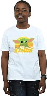 Star Wars Niños The Mandalorian The Child Retro Camiseta