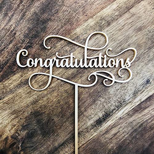 Gefeliciteerd Cake Topper Gefeliciteerd Cake Topper Gefeliciteerd Topper Engagement Cake Graduation Cake Sugar Boo SMT