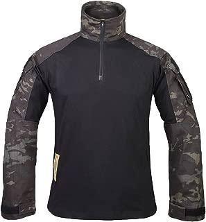 IDOGEAR G3 Combat Shirt Rapid Assault Long Sleeve Tactical Airsoft Clothing Military Paintball Gear Multicam Camouflage
