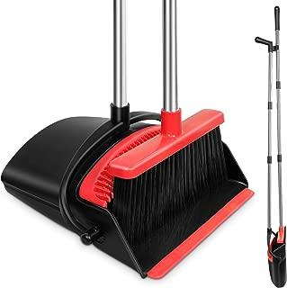 HomTrip Broom and Dustpan Set, 51
