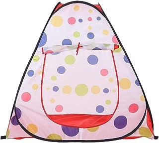 Liuxiaomiao lektält barnlekstält prickigt mönster barnlekstuga portbale indoor toys för inomhus eller utomhus lek