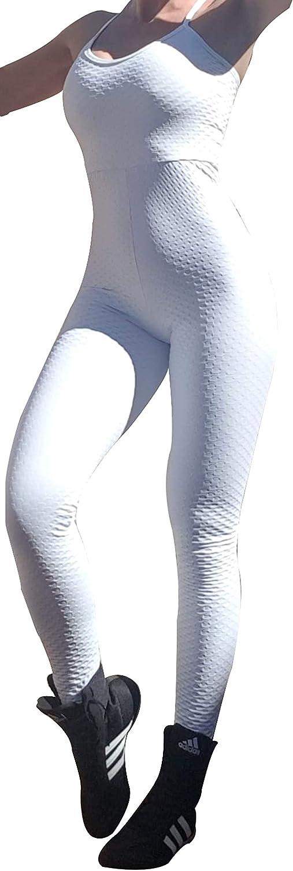 Leggins Completo Deportivo. Mono Enterizo Brocado Deportivo Brasil de Mujer Brocado Blanco New