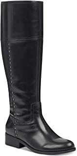 Womens Galaya Leather Knee-High Riding Boots