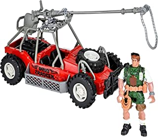 ArtCreativity Dino Dune Buggy Set, Cool Toy Car with Explorer Action Figure, Unique Dinosaur Toys for Boys and Girls, Pret...