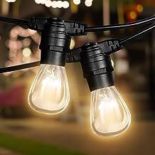 38M Festoon String Lights Kits Christmas Wedding Party Waterproof Indoor/Outdoor 38M