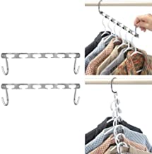 High quality Magic Clothes Hanger Hanging Chain Metal Cloth Closet Hanger Shirts Tidy Save Space Organizer Hangers for clo...