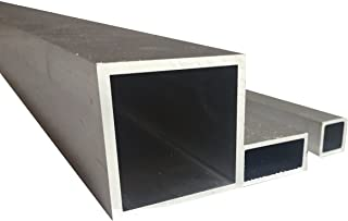 Perfil angular hueco de aluminio, 1000