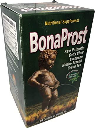 Bona Prost Saw Palmetto - Cats Claw, Lycopene, Nettle Brocoli, Green Tea,