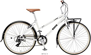 "GIOS(ジオス) LIEBE(リーベ) (1x7速) コンフォートバイク26"" [400mm ホワイト]"