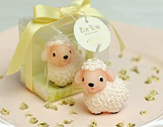 RedC Creative Lamb Cartoon birthday Candle, Smokeless Cake candle and Party Supplies, Hand-made Cake Topper Decoration, Great Gift