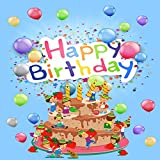 GladsBuy Happy Birthday 8' x 8' Computer Printed Photography Backdrop Other Theme Background S-1992