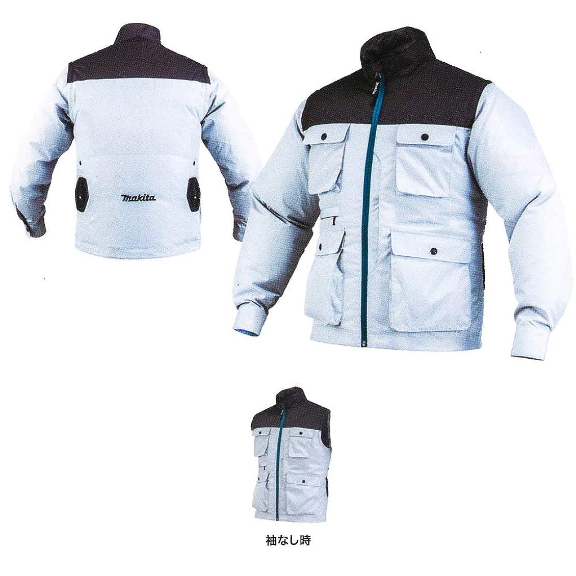 マキタ 充電式ファンジャケット 袖が外せる2Wayタイプ FJ218DZ-Size:M
