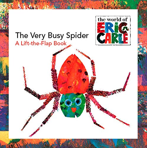 The Very Busy Spider: A Lift-the-Flap Book (The World of Eric Carle)の詳細を見る