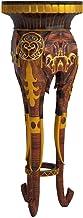 Design Toscano Majestic Elephant Sculptural Pedestal,Full Color