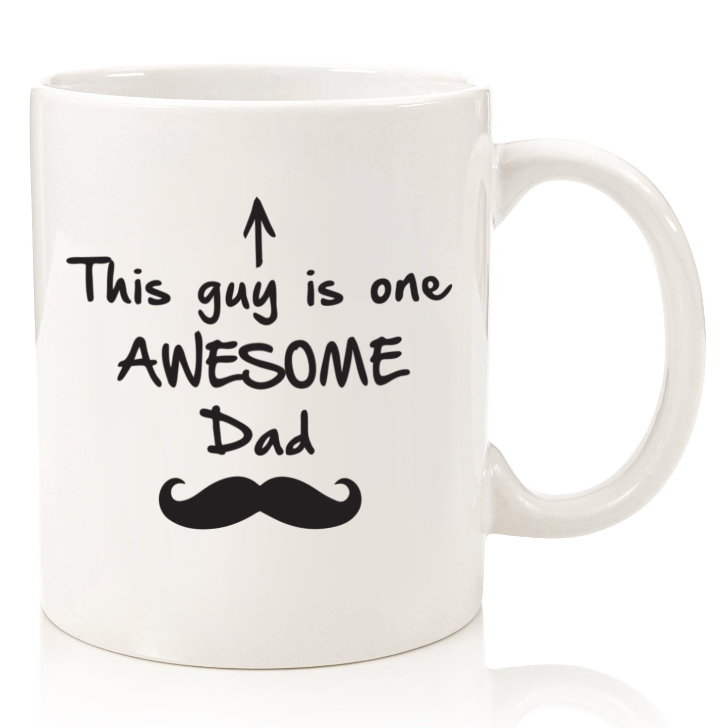 Amazon Com One Awesome Dad Funny Mug Best Dad Birthday Gifts