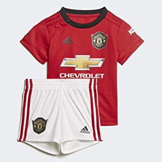 adidas Manchester United 2019/20 Kids Infant Baby Home Football Kit Red