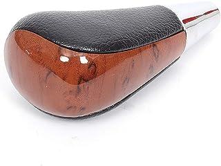 JPLLYY T-O-Y-O-T-H-R-R-I-E-R 2010のH-I-L-U-xのためのギアシフトノブレザー車レバーシフタースティック (Color : ブラック, Size : フリー)