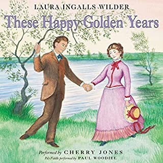 These Happy Golden Years     Little House, Book 8              Auteur(s):                                                                                                                                 Laura Ingalls Wilder                               Narrateur(s):                                                                                                                                 Cherry Jones                      Durée: 6 h et 44 min     8 évaluations     Au global 4,9