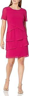 اس.ال فستان نسائي من أزياء بيبل طبقات فستان مناسبة خاصة