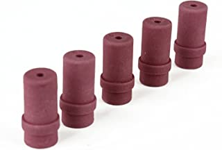 Preamer Ceramic Sandblaster Nozzle Tips, 5mm and 6mm Inner Diameter, 6 pcs r