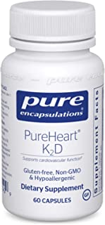 Pure Encapsulations - PureHeart K2D - Hypoallergenic Supplement to Promote Calcium Homeostasis and Cardiovascular Function...