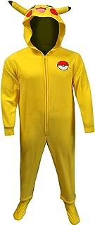 Men's Pokemon Pikachu One Piece Union Suit Pajama