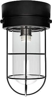 szbritelight マリン風ランプ マリンランプ 照明器具 天井 6畳 シーリングライト ペンダントライト E17 LED対応 電球なし 引っ掛けシーリング 工事不要