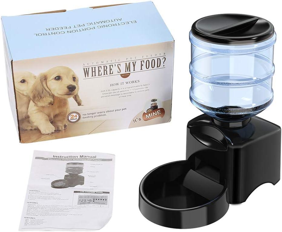 GHMOZ Pet online shop Feeder 5.5L Electric Dish 2021 model B Food Automatic Pets